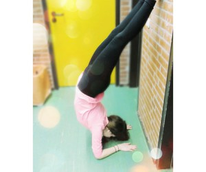fashion, girl, and gymnastic image