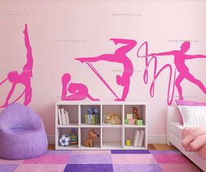 art, bedroom, and gymnastic image