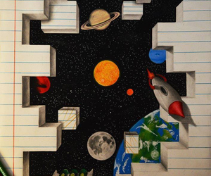 draw, drawing, and space image