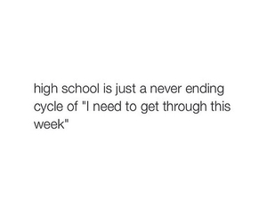 high school and week image