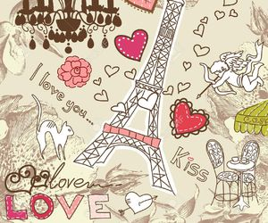 paris, love, and pink image