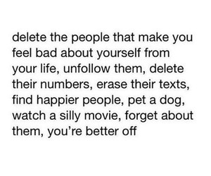 people, delete, and quote image