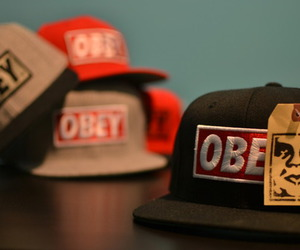 obey, cap, and swag image