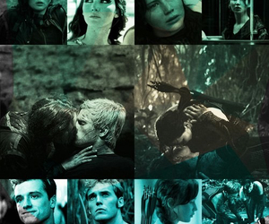 the hunger games, arena, and katniss image