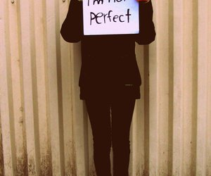 perfect, girl, and sorry image