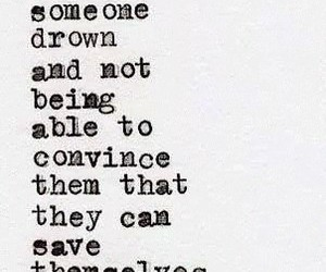 quote, save, and sad image