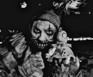 clown, ahs, and american horror story image