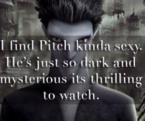 dark, sexy, and thrilling image