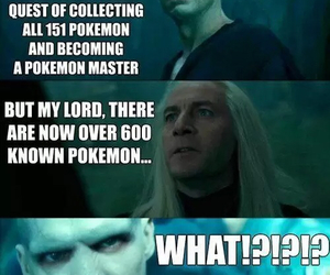pokemon, harry potter, and voldemort image