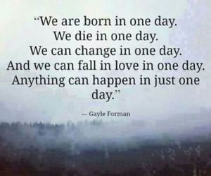 quote, die, and day image