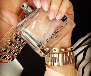 Givenchy, nails, and perfume image