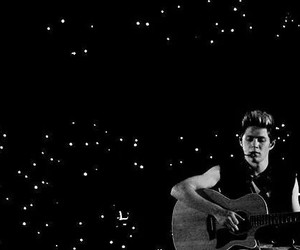 black and white, niall horan, and boy image