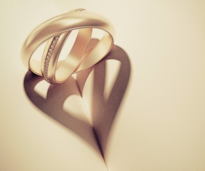 love, heart, and ring image