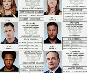 cast, csi, and serie image