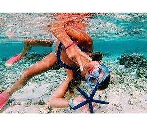 starfish, snorkelling, and lushbeach image
