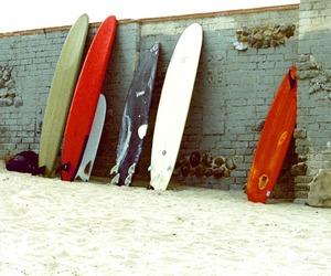 photography and surfboard image