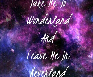 blue, galaxy, and neverland image