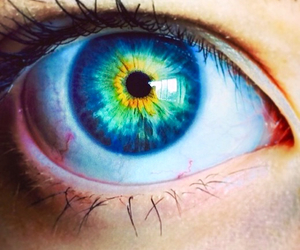 girl, beautiful, and blue eyes image