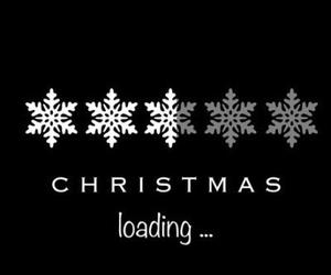 christmas, snow, and loading image