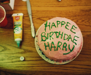 harry potter, cake, and hagrid image
