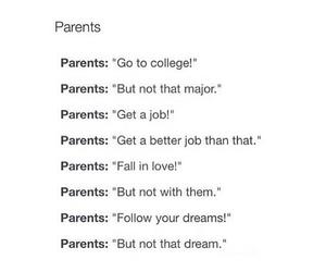 parents, sad, and true image
