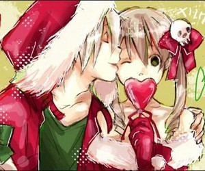 anime, soul eater, and christmas image