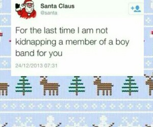 christmas, funny, and band image