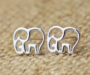 elephant, accessories, and ring image
