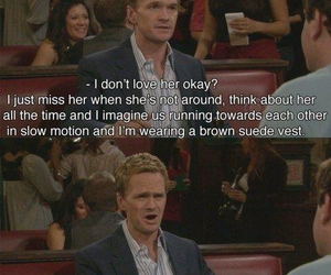 barney, in love, and phrases image