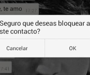 contact, seguro, and bloquear image