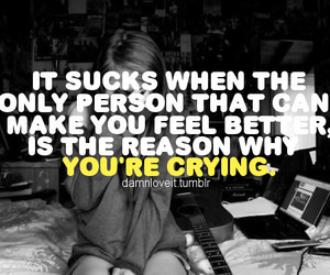 cry, crying, and girl image