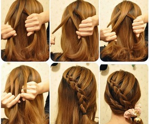 december, hairstyle, and girl image
