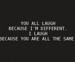 laugh, quotes, and different image