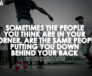 quote and fake friends image