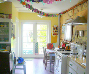 bright, kitchen, and light image