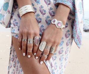 fashion, boho, and accessories image