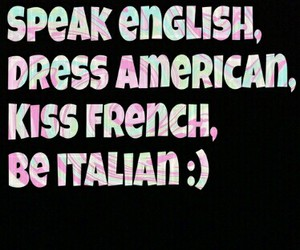 american, english, and french image