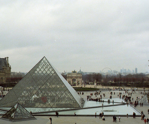 louvre, paris, and france image