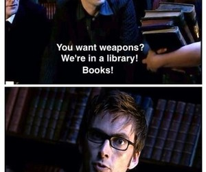 book, david tennant, and doctor who image
