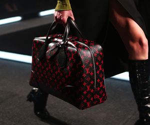 fashion, glamour, and Louis Vuitton image