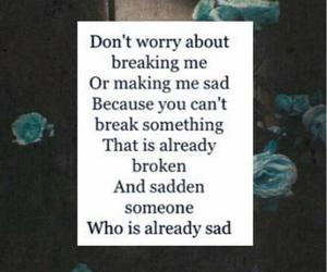 broken, grunge, and quote image