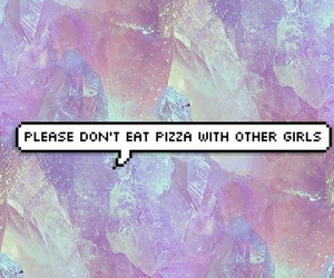 pizza, tumblr, and grunge image