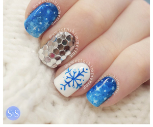 nails, fashion, and winter image