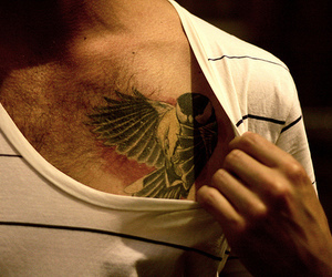 tattoo and bird tattoo image