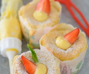 cupcakes, Hokkaido, and chiffon cake image