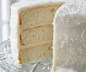 cake, christmas, and eggnog image