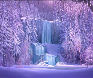 frozen, ice, and snow image