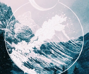 background, blue, and hipster image