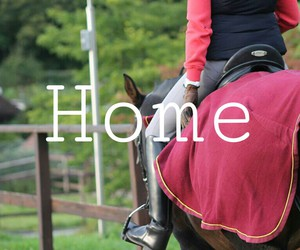home and horse image