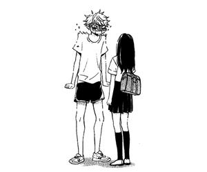 boy, girl, and happy image